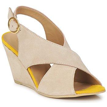 Sandale Pieces OTTINE SHOP SANDAL Taupe