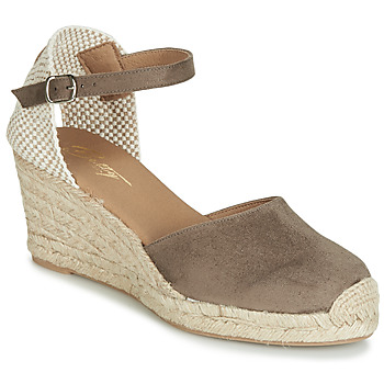 Chaussures Femme Sandales et Nu-pieds Betty London CASSIA Taupe