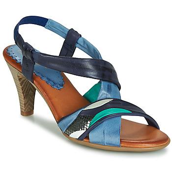 Chaussures Femme Sandales et Nu-pieds Betty London POULOI Bleu / Vert