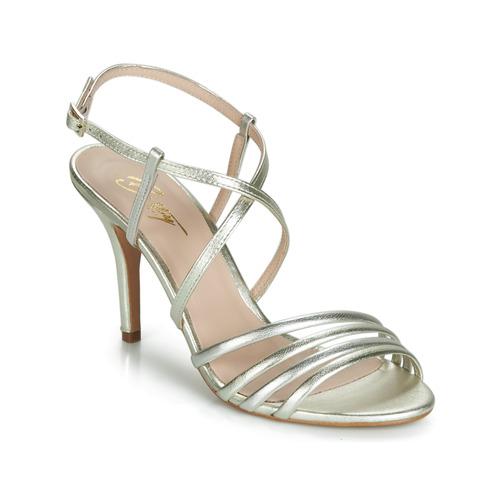 90abb1cc363d Chaussures Femme Sandales et Nu-pieds Betty London JIKOTIPE Doré / Argenté
