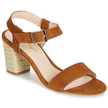 Chaussures Femme Sandales et Nu-pieds Betty London JIKOTIFE Camel