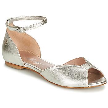 Chaussures Femme Sandales et Nu-pieds Betty London INALI Argenté