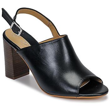 Chaussures Femme Sandales et Nu-pieds Betty London JIKOTEGE Noir