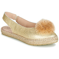 Chaussures Femme Ballerines / babies Betty London JIKOTI Doré