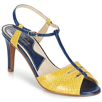 Chaussures Femme Sandales et Nu-pieds Ippon Vintage DROP BACK Marine / Jaune