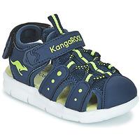 Chaussures Enfant Sandales et Nu-pieds Kangaroos K-MINI Marine / Jaune