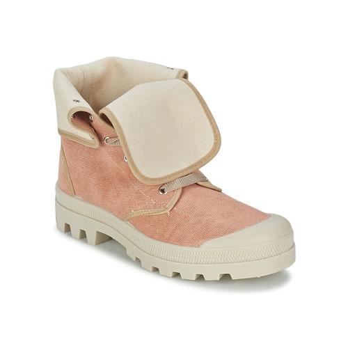 Chaussures Femme Baskets montantes Casual Attitude BOPESSA Rose