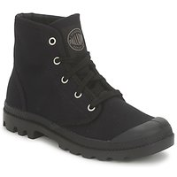 Chaussures Femme Boots Palladium US PAMPA HI Noir