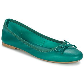 Chaussures Femme Ballerines / babies André PIETRA Vert