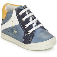 Chaussures Garçon Boots André PEDALO Bleu