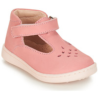 Chaussures Fille Ballerines / babies André FILLETTE Rose