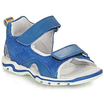 Chaussures Garçon Sandales et Nu-pieds André PLANCTON Bleu