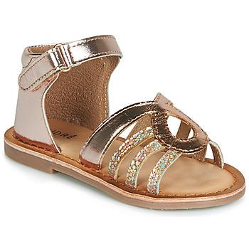 Chaussures Fille Sandales et Nu-pieds André LEÏA Or