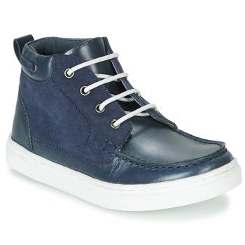 Chaussures Garçon Boots André PIRATE Marine
