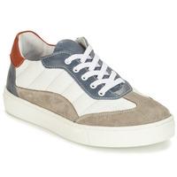 Chaussures Garçon Derbies André ALBATROS Blanc