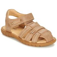 Chaussures Garçon Sandales et Nu-pieds André RADEAU Beige