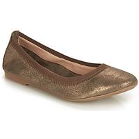 Chaussures Femme Ballerines / babies André CARLARA Bronze