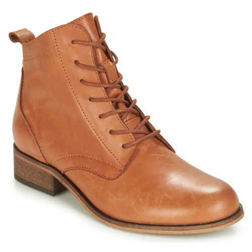 Chaussures Femme Boots André GODILLOT Camel
