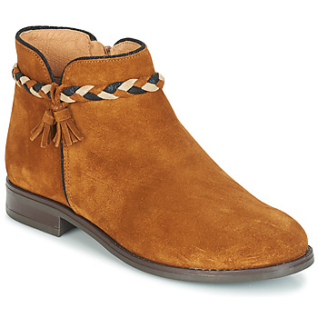 Chaussures Femme Boots André RAVIE Camel