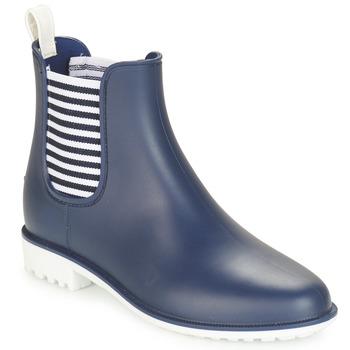 Chaussures Femme Bottes de pluie André SKIPPER Bleu