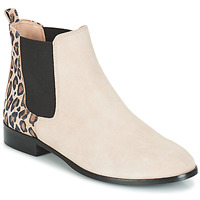 Chaussures Femme Boots André CHAMANE Beige