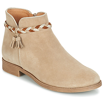 Chaussures Femme Boots André RAVIE Beige
