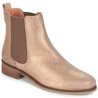 Chaussures Femme Boots André CHATELAIN Doré