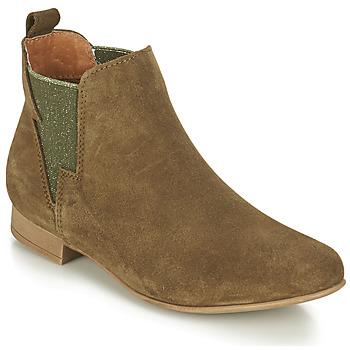 Chaussures Femme Boots André ROCKA Kaki