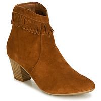Chaussures Femme Bottines André RILAN Cognac