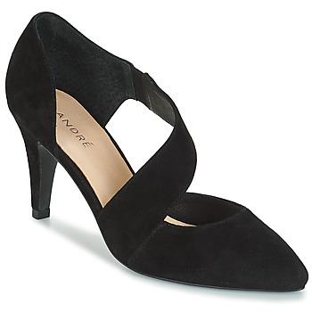 Chaussures Femme Escarpins André SOIE Noir