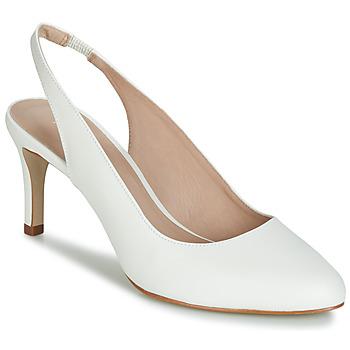Chaussures Femme Escarpins André CASINO Blanc