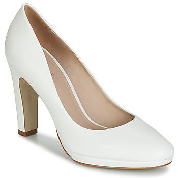 Chaussures Femme Escarpins André CALI Blanc