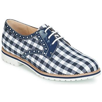 Chaussures Femme Derbies André DERIVEUR Bleu