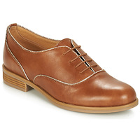 Chaussures Femme Derbies André CHOMINE Camel