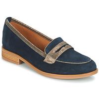 Chaussures Femme Mocassins André ROAD Bleu