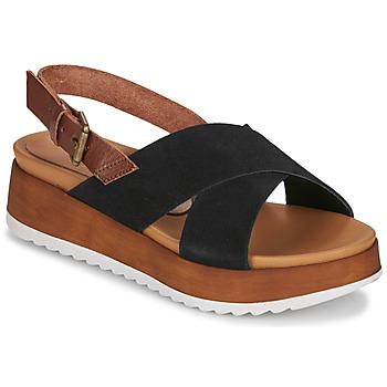 Chaussures Femme Sandales et Nu-pieds André REINE Noir
