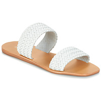 Chaussures Femme Mules André CHUPA Blanc