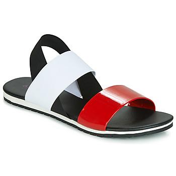 Chaussures Femme Sandales et Nu-pieds André SATANAS Rouge