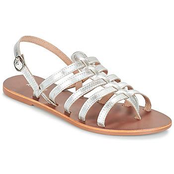 Chaussures Femme Sandales et Nu-pieds André ROSIANE Argenté