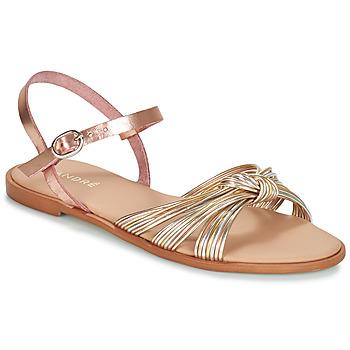 Chaussures Femme Sandales et Nu-pieds André SOFIA Doré