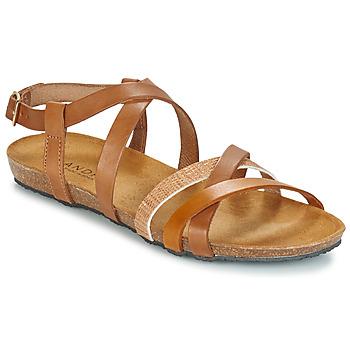 Chaussures Femme Sandales et Nu-pieds André ATLASS Marron