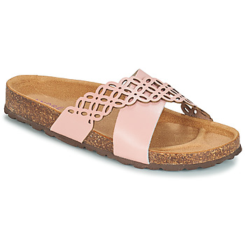 Chaussures Femme Mules André ROULADE Rose