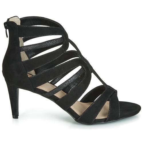 André CHILI Noir - Chaussure pas cher avec- Chaussures Sandale Femme 6499 j62tLBvM