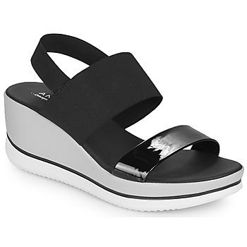 Chaussures Femme Sandales et Nu-pieds André SAURENZA Noir