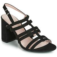 Chaussures Femme Sandales et Nu-pieds André CAPUCINE Noir
