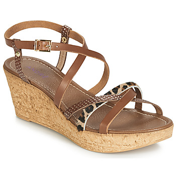 Chaussures Femme Sandales et Nu-pieds André RAMATA Marron