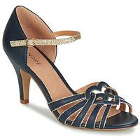 Chaussures Femme Sandales et Nu-pieds André CAGLIARI Marine