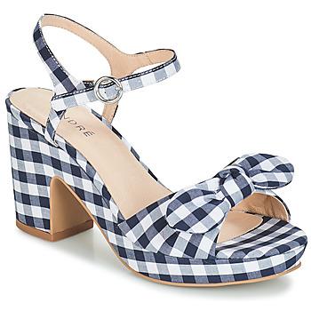 Chaussures Femme Sandales et Nu-pieds André SPRING Bleu