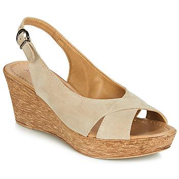 Chaussures Femme Sandales et Nu-pieds André DESTINY Beige