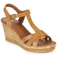 Chaussures Femme Sandales et Nu-pieds André ALOE Camel